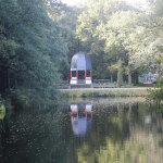 Volkspark Jungfernheide. Rekonstruktion Uferpavillon